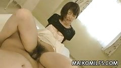 Japanese MILF Miki Ando wants cum in her face