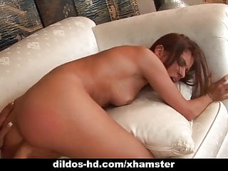Cayton Caley and Demi Delia drill each other with dildo