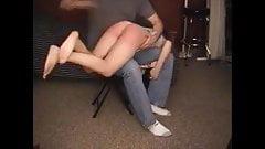 amateur spanking session