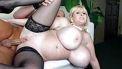 Busty Kayla Kleevage sucks and fucks like a real pro