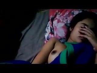 Download video bokep Shy stunning Indian teen babe flashing her boobies Mp4 terbaru