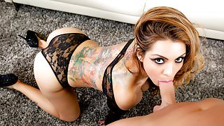 FirstClassPOV- HOT Latina Yurizan Beltran sucking a big dick