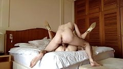 Beautiful Italian Wife Gets Fucked at the Hotel's Thumb
