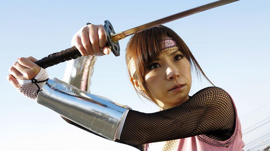 Japanese ninja, Sumire Matsu got fucked and became slave, un