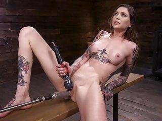 Tattoo D Alt Babe Machine Fucked
