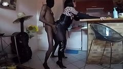 shemale fucked by a black cock