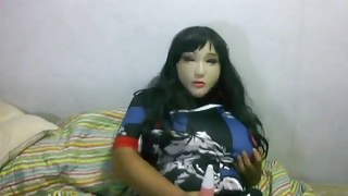 female mask vibrating 2