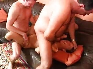 Two german mans fuck mature woman