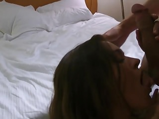Gay cuckold - Hot busty wife fuck hubbys friend