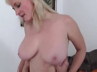 Busty mature blonde fucked
