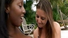 LEXI LOCKHART in Black, White And Tight Lesbians