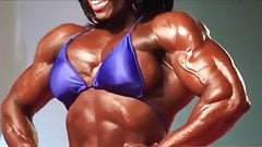 Muscle black woman legend Iris