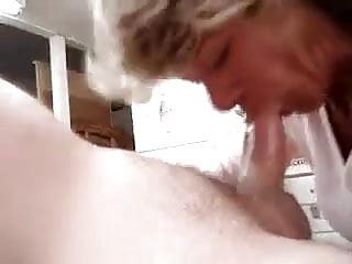 granny suck very hard
