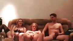 Velvet Swingers Club 2 young couples trading wives and husba porn image