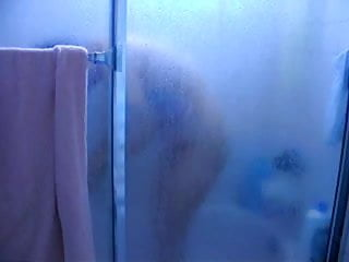 Mom in shower
