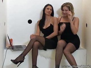 Glory Hole Blowjob -Vittoria Risi e Sofia Gucci