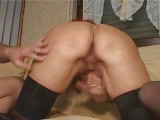 redhead german milf gets fucked by young boy