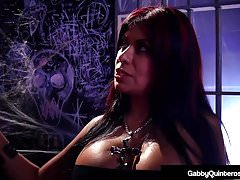 MexiMilf Gabby Quinteros Is In Jail With A Big Black Cock!