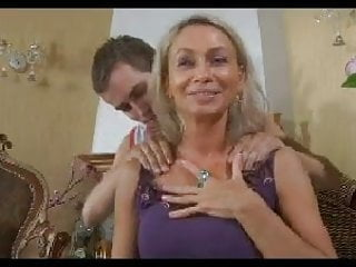 Preview 1 of HOT MOM n148russian blonde excited mature milf and young man