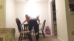 girl on girl lapdance