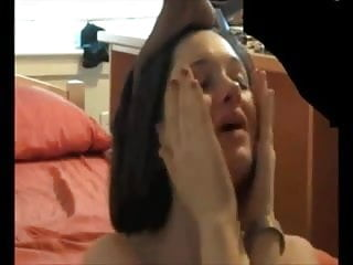 Pretty Innocent Looking Chick BegsFor Facial!