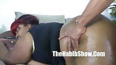 Pink Kandi BBW 38 JJJ tit fucked by monster dick