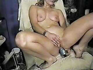 Horny Wife Self Fuck Both Holes Homemade Video