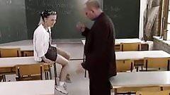 STP3 Schoolgirl Fucks Her Teacher To Pass Her Test !