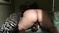 Amateur girl playing 17