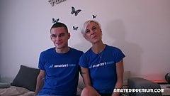 Czech Milf Espoir has randy young boyfriend. She enjoys esch