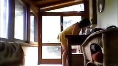 Francesca teasing terrace