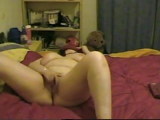 Horny Fat BBW Teen having phone sex with her BF