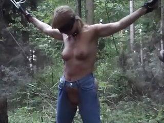 OpenairAbstrafung im Wald
