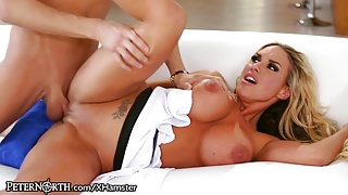 Huge Tits Mommy Cheats With her Stepson!