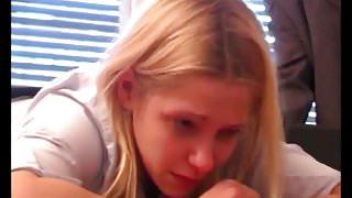 STP7 Rosy Cheeked Schoolgirl !