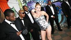 Krissy Lynn Can't Wait To Has 8 Black Dicks Stuff Her Face