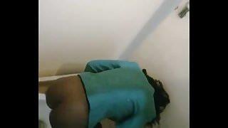 Spying Ebony asses
