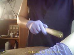 waxing on hidden cam part4