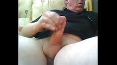 Hot moaning mature guy