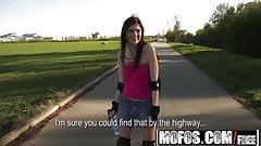 Public Pick Ups - Roller Fucking starring  Katie