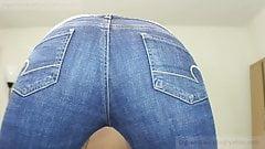Hot Jeans Farts POV