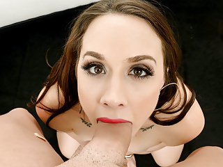 FirstClassPOV - Stunning Chanel Preston suck a big hard dick