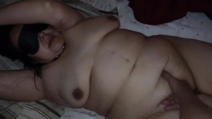 My submissive bbw wife toyed and fucked
