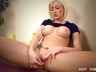 She Loves the way her Tits Feel