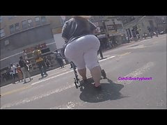 Widest Candid SSBBW Italian Pear PAWG Booty I Have Ever Seen