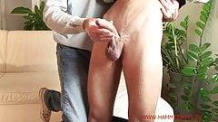Straight guy handjob