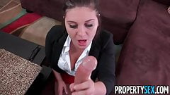 PropertySex - Rich spoiled brat fucks real estate agent