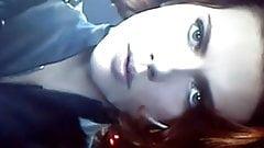 Scarlette Johansson Delicious Cumshot