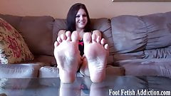 My pretty little feet need to be pampered