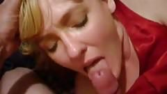 mates divorced mom janets lets me cum in her mouth